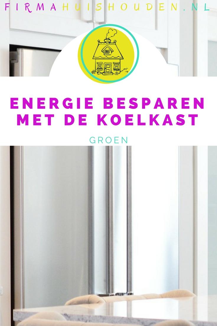 Energie besparen met de koelkast