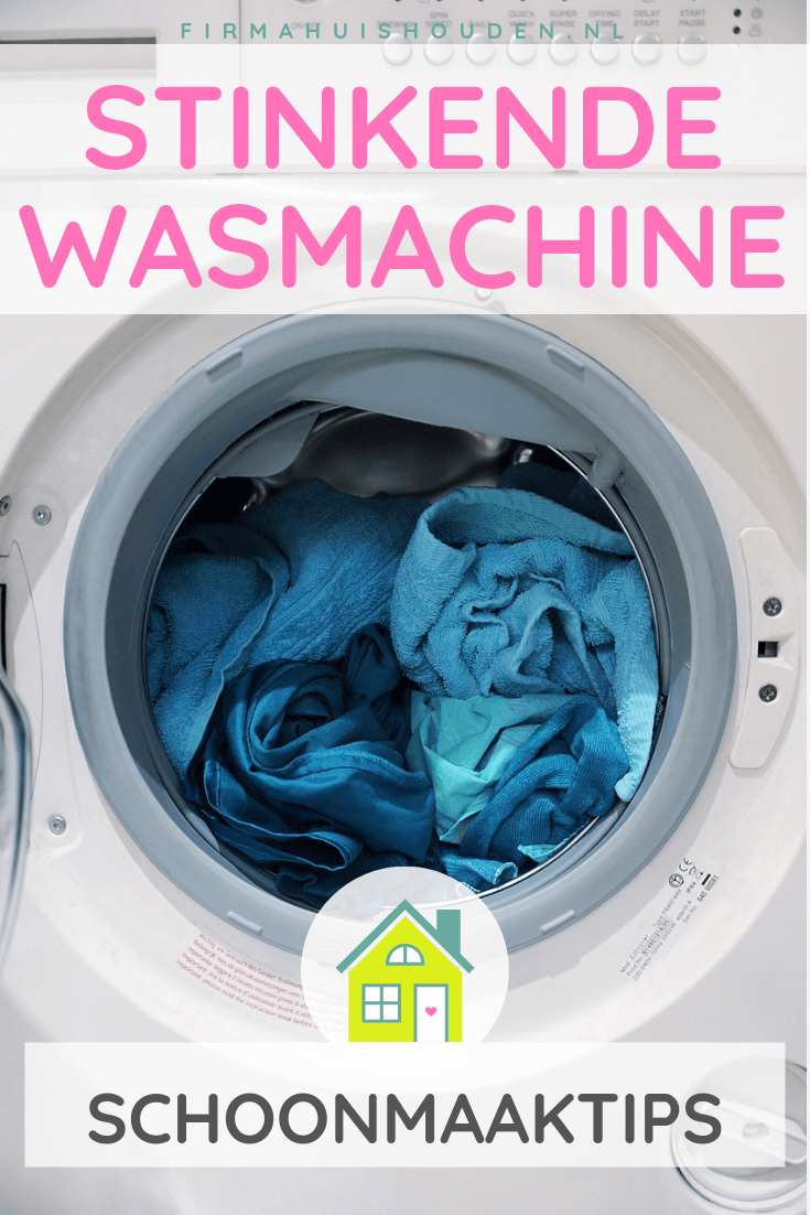 Stinkende wasmachine