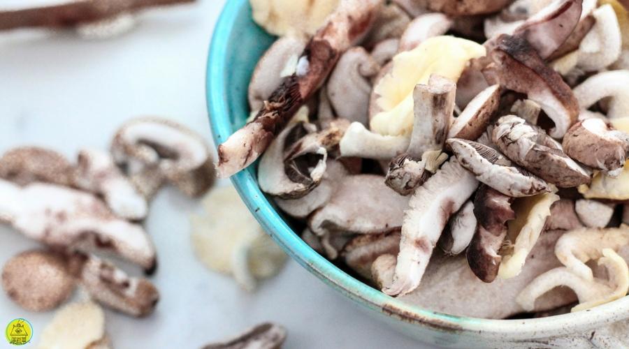 Platte gehaktballen in bospaddenstoelensaus | recept