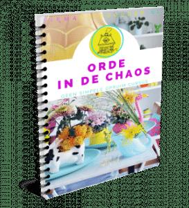 Orde in de Chaos - cursus Deze cursus is gericht op diegenen die serieus willen gaan opruimen en die geïnteresseerd zijn in hoe ze dit efficiënt en blijvend kunnen doen.