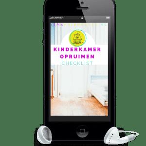 Kinderkamer opruimen - checklist voor je kind