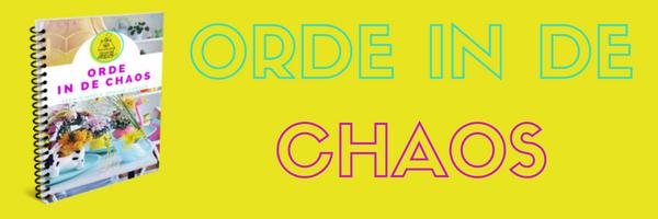 Begin bij het begin | Orde in de Chaos 2.0 – deel 1/10