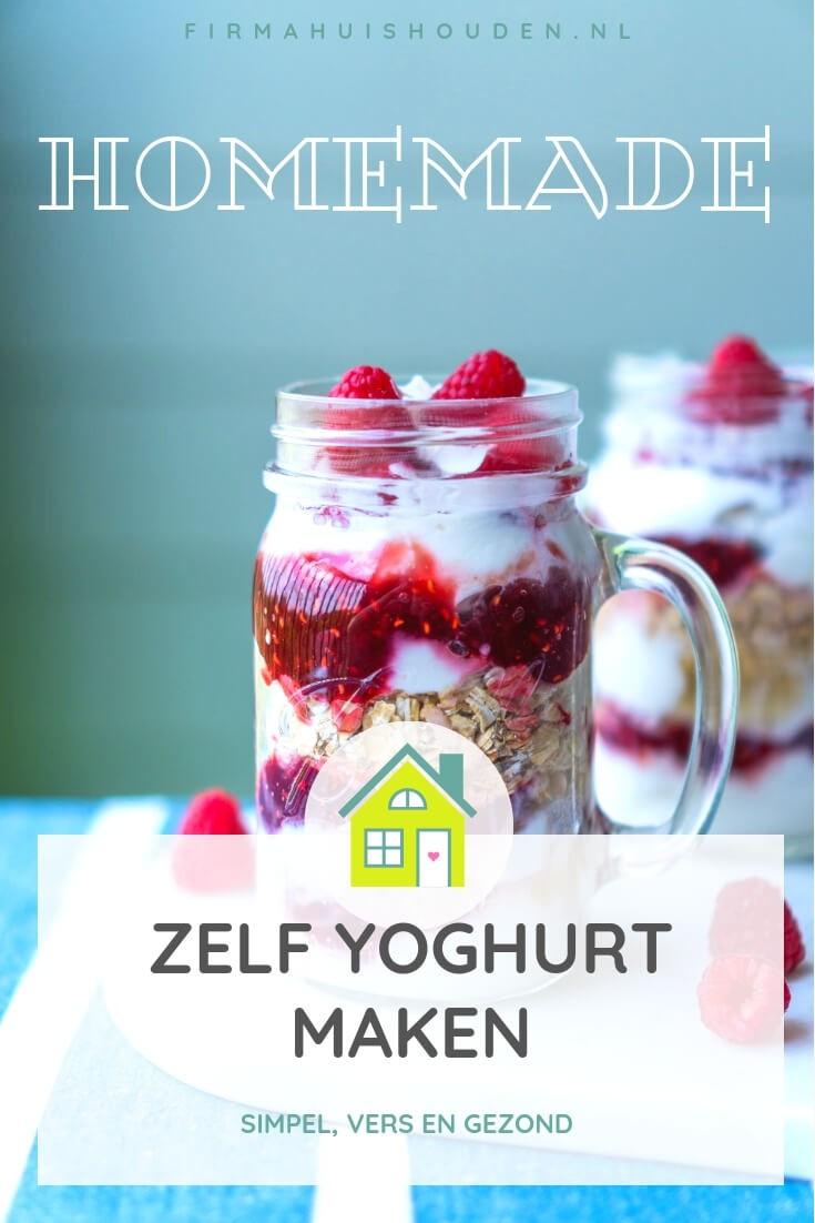 Zelf yoghurt maken | eenvoudig, vers en lekkerder