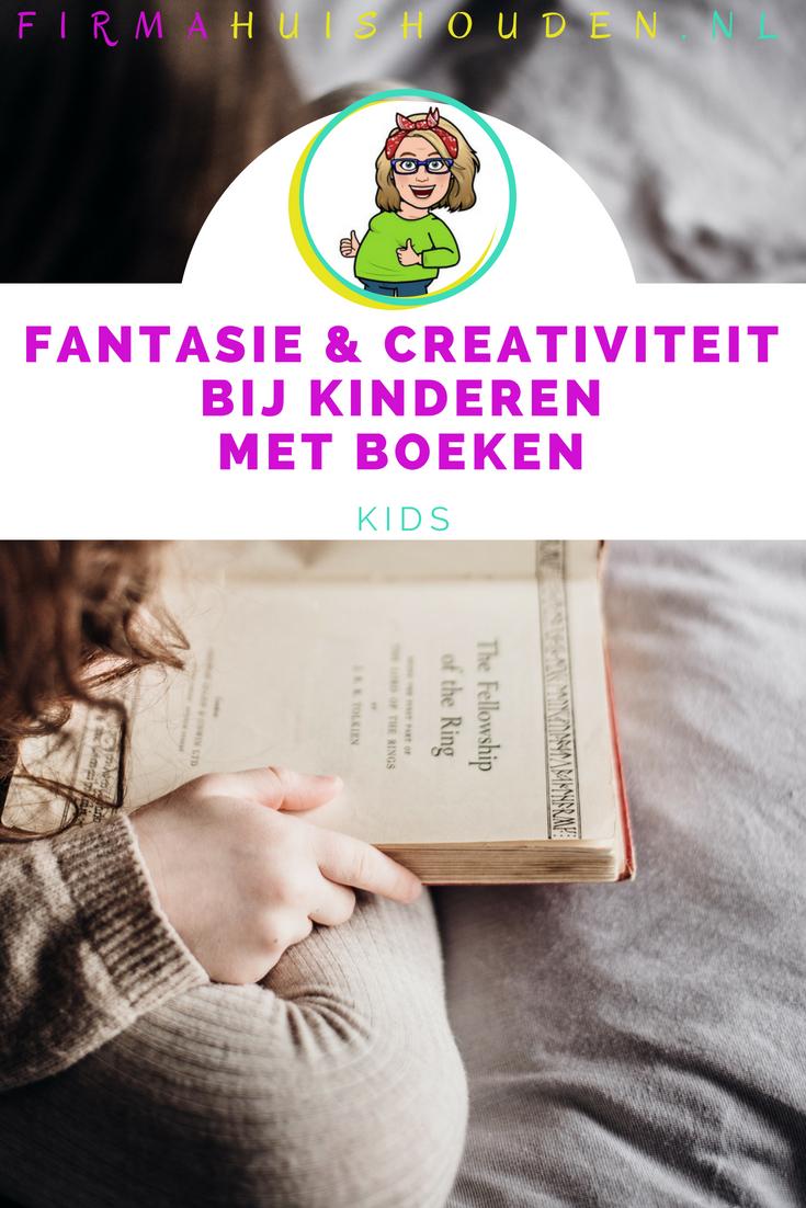 Prikkel de fantasie en creativiteit van kinderen met boeken