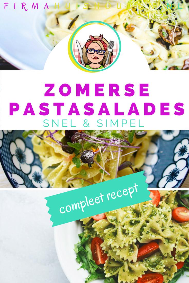 Makkelijke zomerse pastasalades