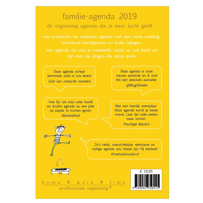 Familie agenda 2019