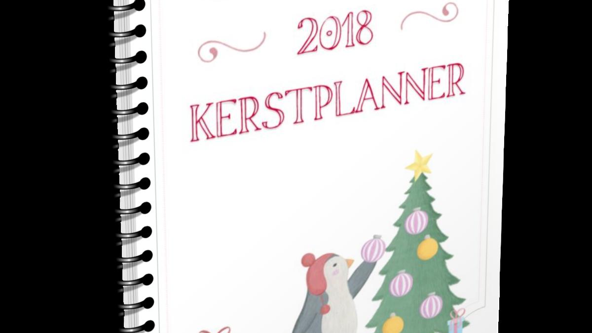 Kerstplanner 2018 voor een stressvrije kerst