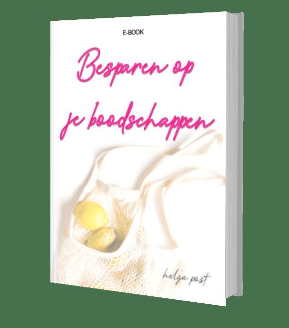 Besparen op je Boodschappen - e-book