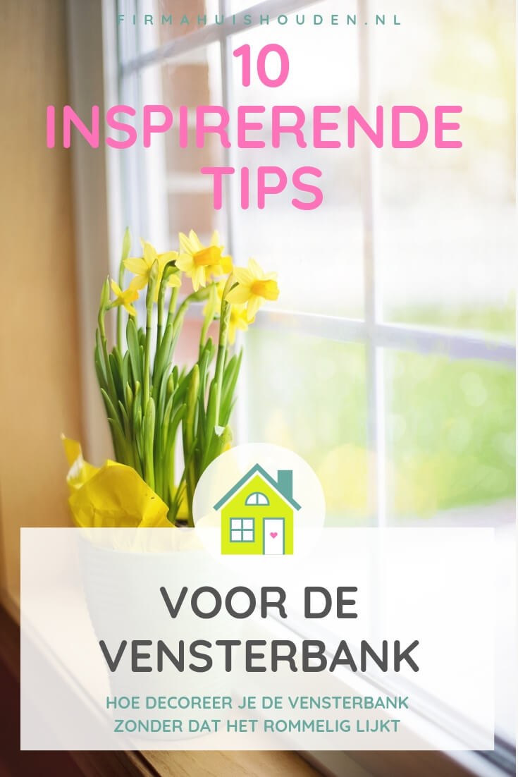 10 Inspirerende tips voor vensterbank decoratie