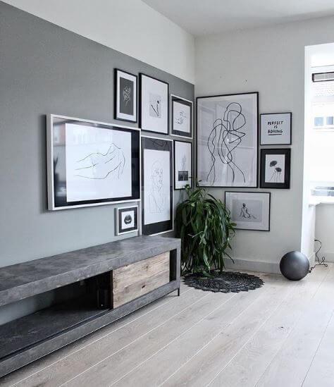 10 Manieren om je schilderijen op te hangen