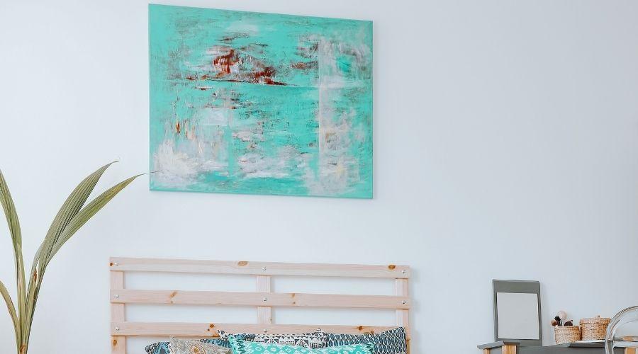 Manieren om een schilderij op te hangen