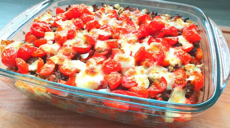Kapsalon gezond met mozzarella | recept