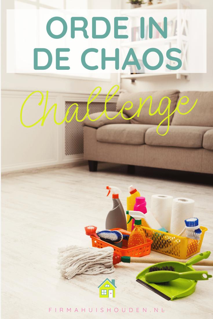 Challenge orde in de chaos