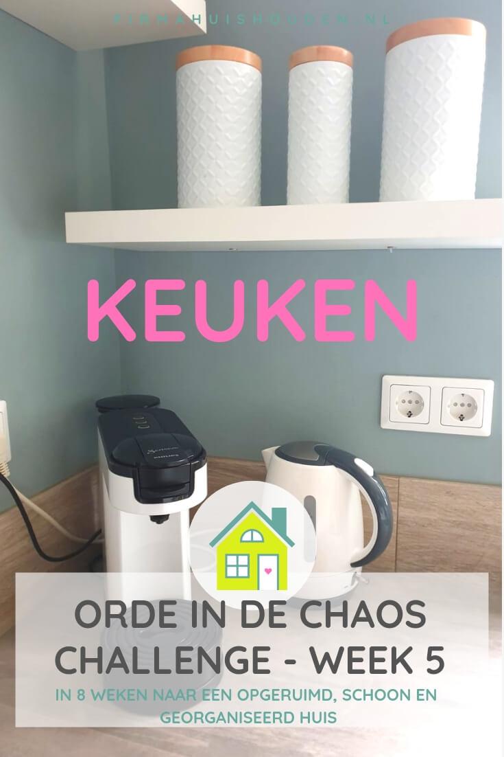 Orde in de Chaos Challenge | week 5 - De keuken