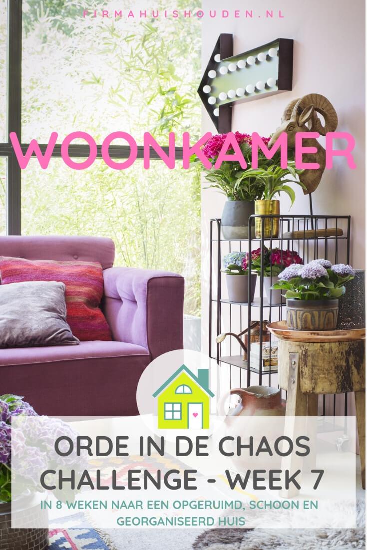 Orde in de Chaos Challenge | week 7 - De woonkamer