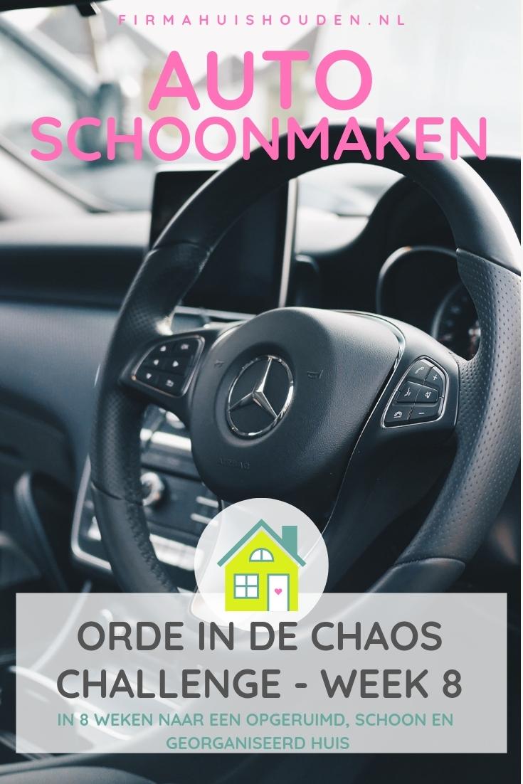 Auto schoonmaken - Orde in de Chaos | Challenge voorjaar 2019