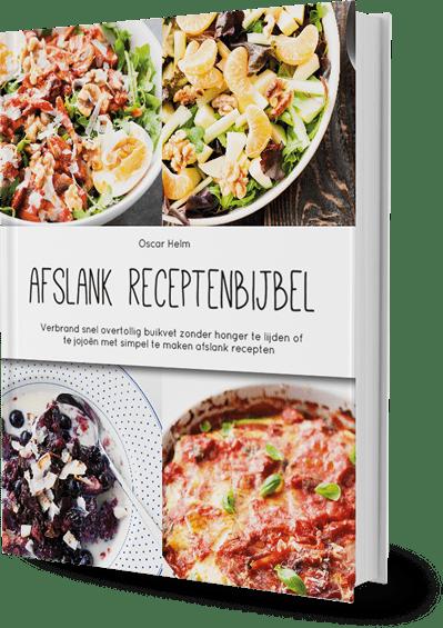 Afslank Receptenbijbel, e-book over afvallen