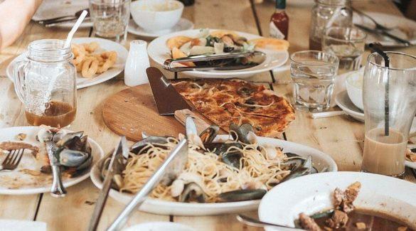 Gedekte tafel - samen eten