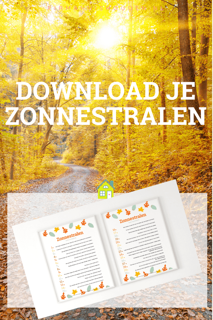Download je zonnestralen van november