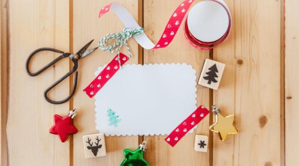 Tips en inspiratie voor zelfgemaakte kerstkaarten