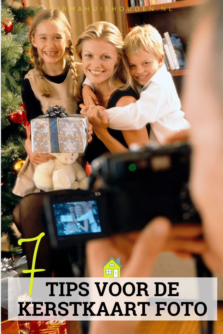 7 Tips voor de kerstkaart foto