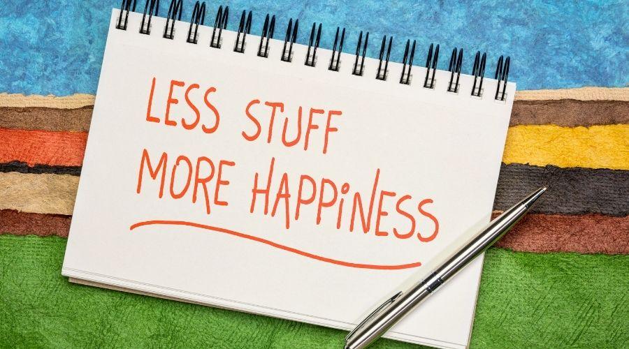 Kun jij met minder gelukkig zijn? Afbeelding artikel