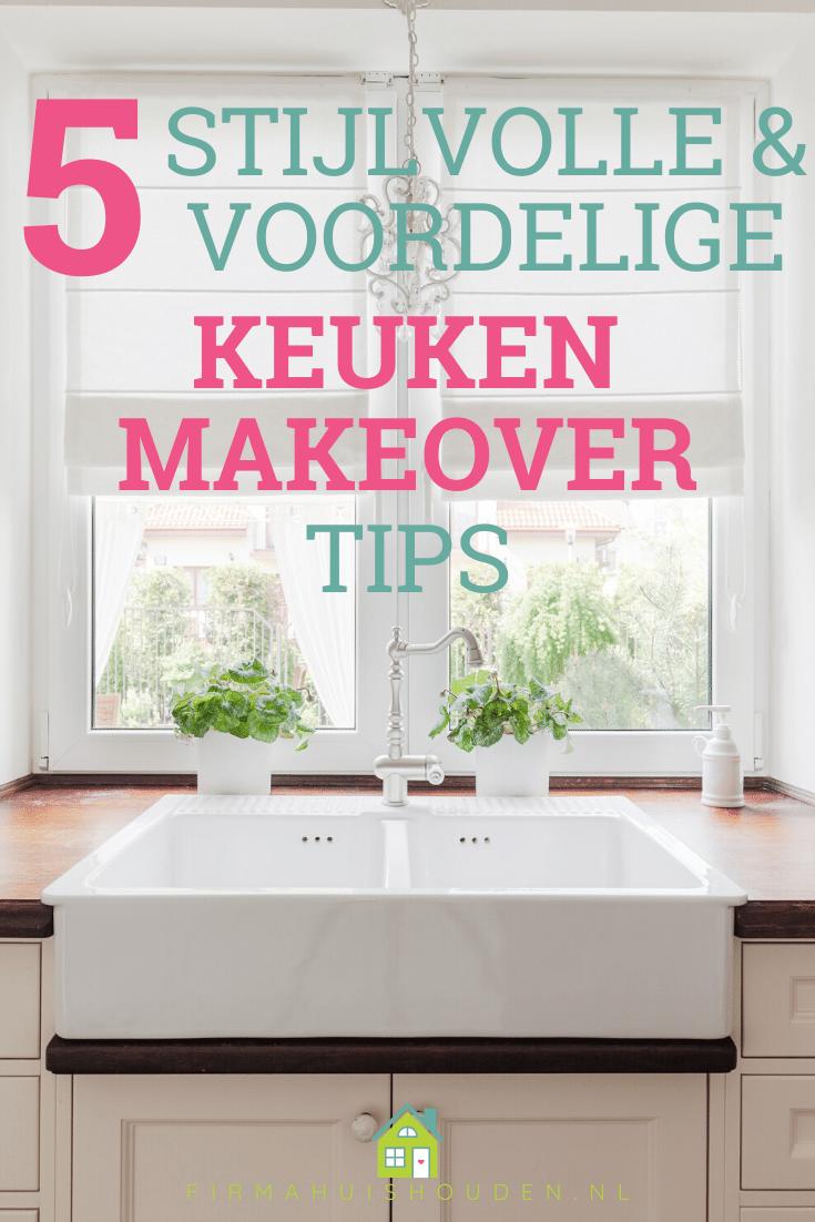 5 Stijlvolle en voordelige keuken make-over tips