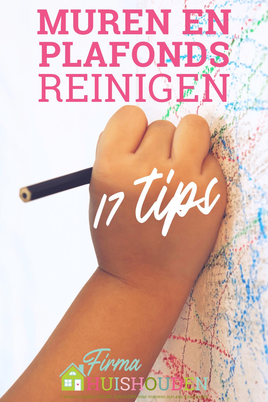 Pin voor artikel: 17 Tips voor reinigen van muren en plafonds
