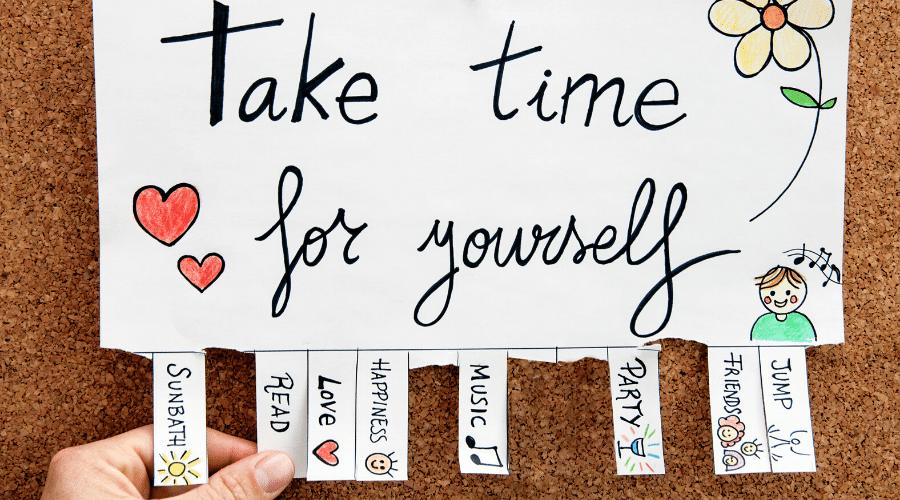 Tips om tijd voor jezelf te maken 2