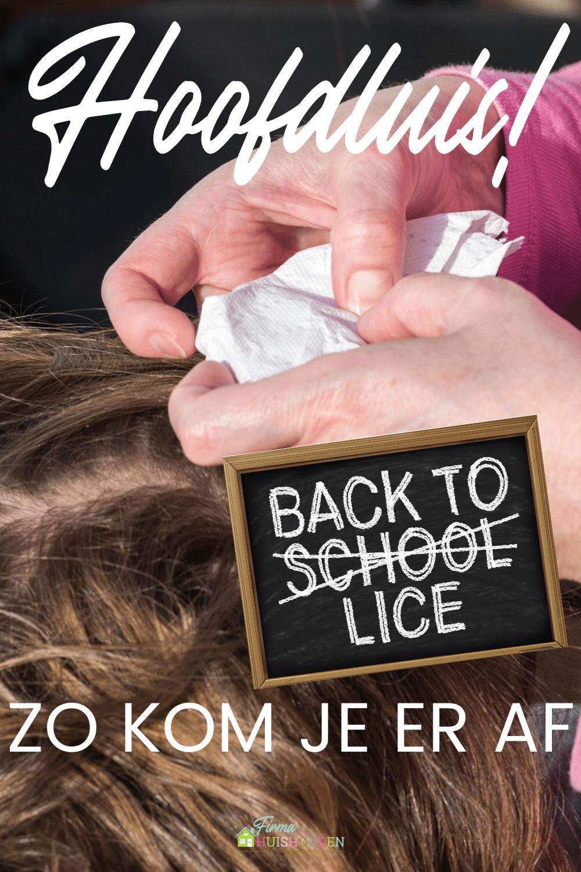 Back to school - Back to lice!   Hoofdluis hoe en wat? - hoofdluis hoe en wat