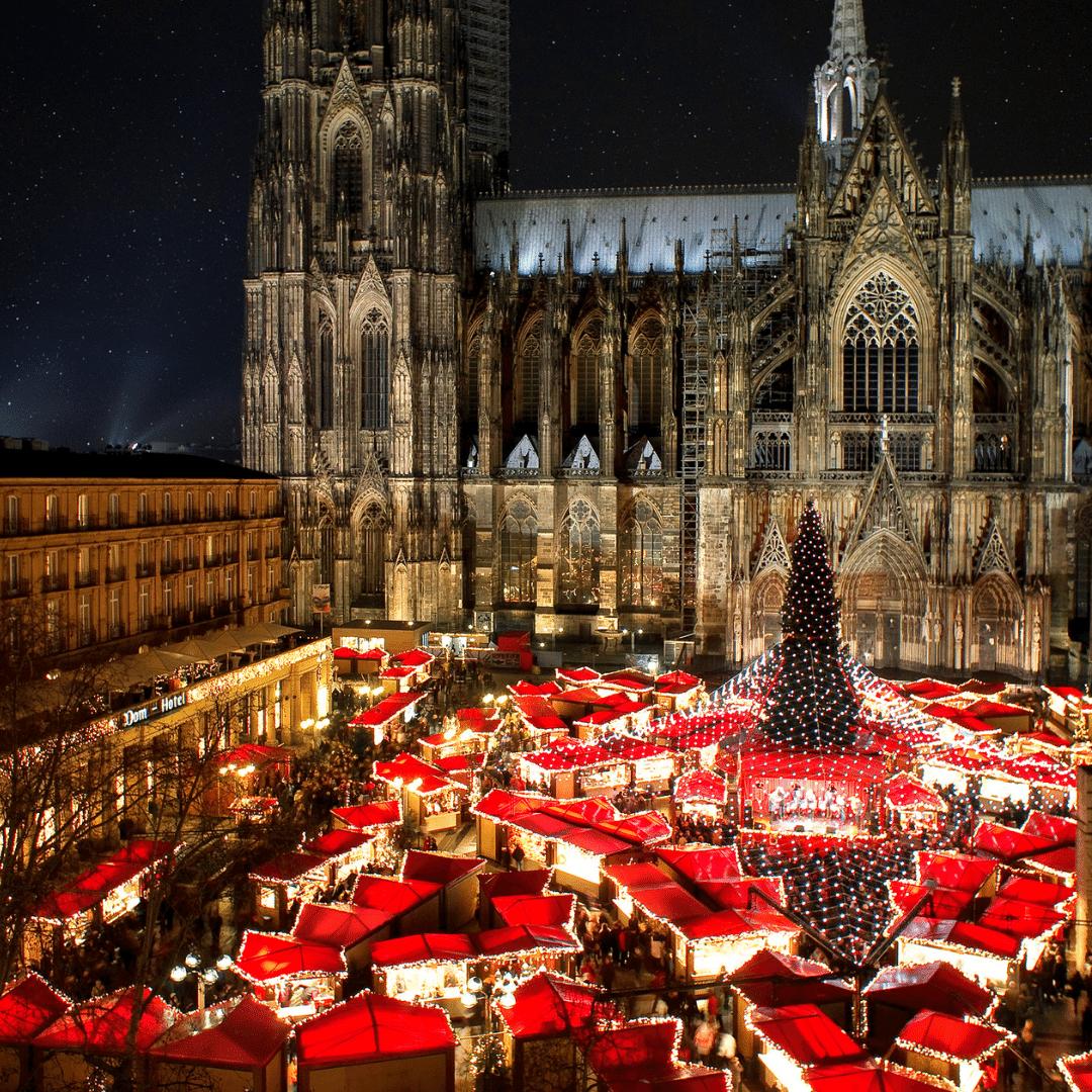 Kerstsfeer in Keulen