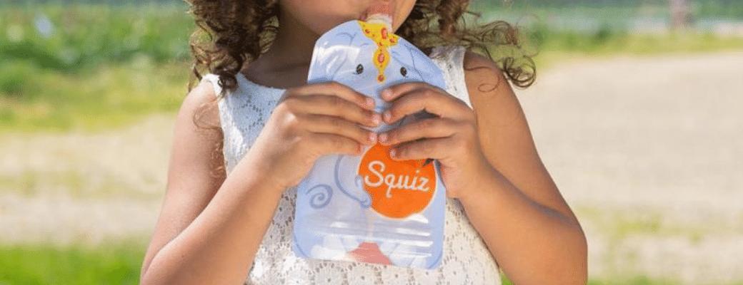 Duurzaam consumeren met de herbruikbare snackzakjes van Squiz -