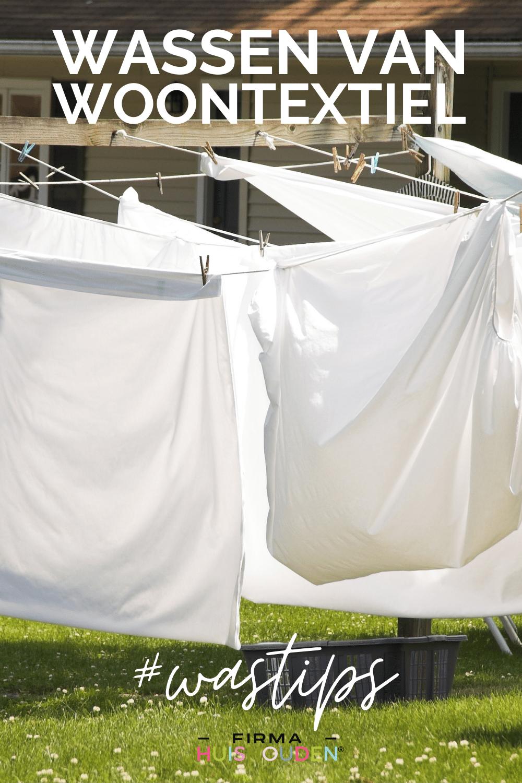 tips voor het wassen van woontextiel