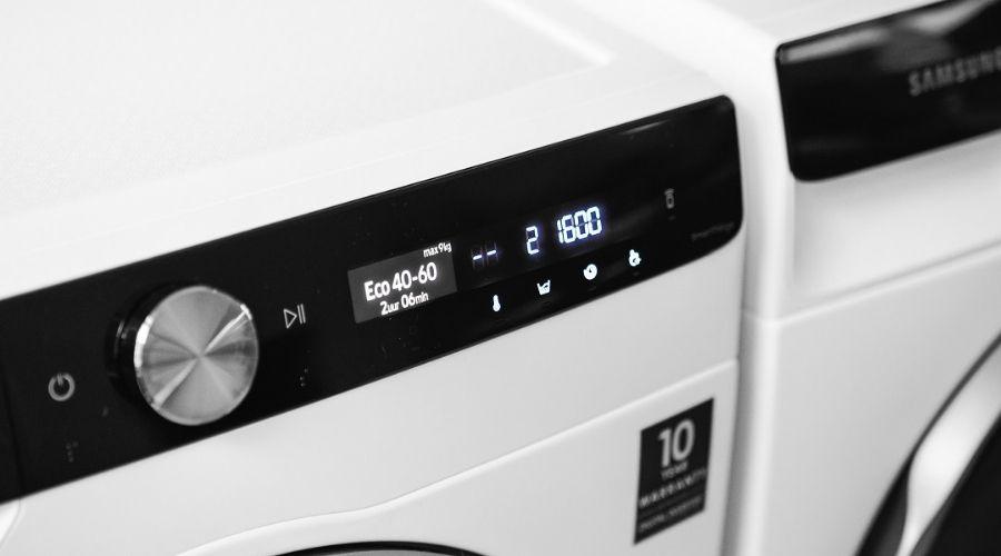 nieuwe wasmachine of droger