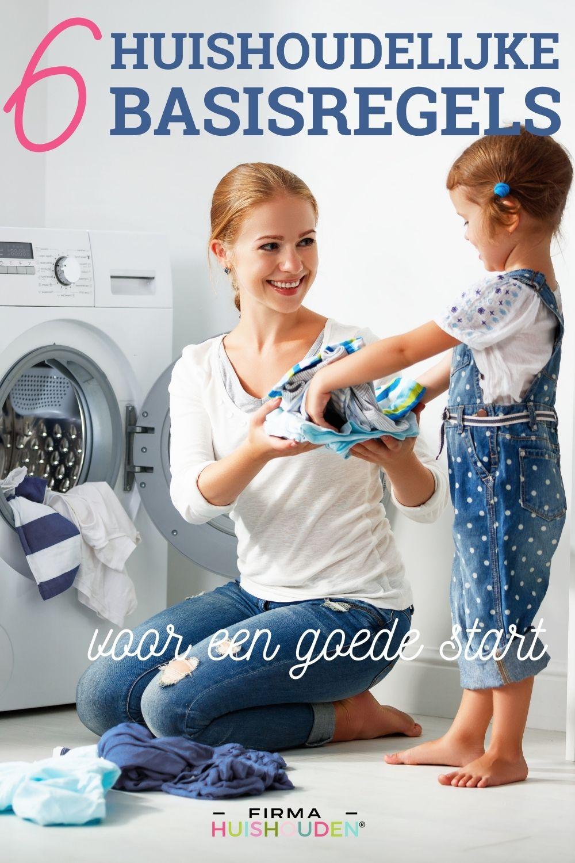 Pinafbeelding bij artikel: 6 Huishoudelijke basisregels voor een goede start