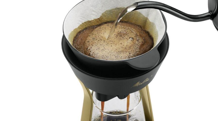 Koffie opschenken