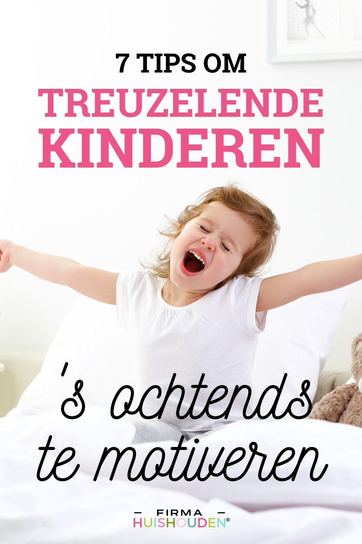 7 Tips om treuzelende kinderen 's ochtends te motiveren - treuzelende kinderen